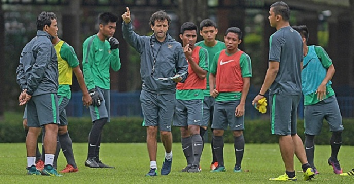 Anniversary Cup, Timnas Indonesia vs Bahrain