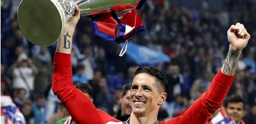 Torres Raih Trofi Bersama Atletico