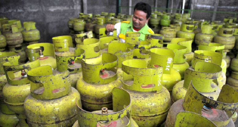 Sepekan, Gas Melon Langka di Bekasi