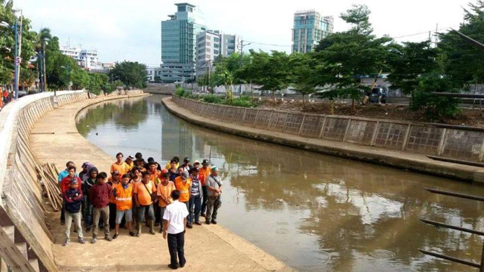 Gubernur Bangkok Ingin Belajar Kebersihan Sungai di Jakarta