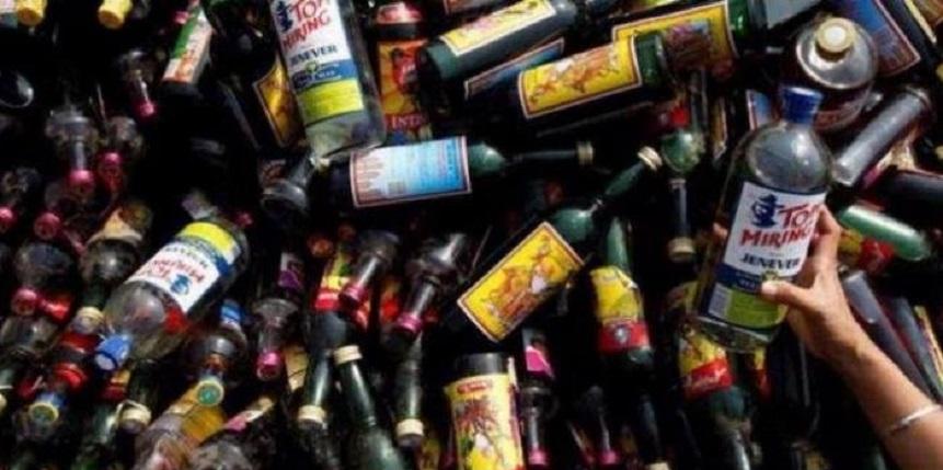 Ramadhan, 320 Botol Miras Disita dari Terminal Depok
