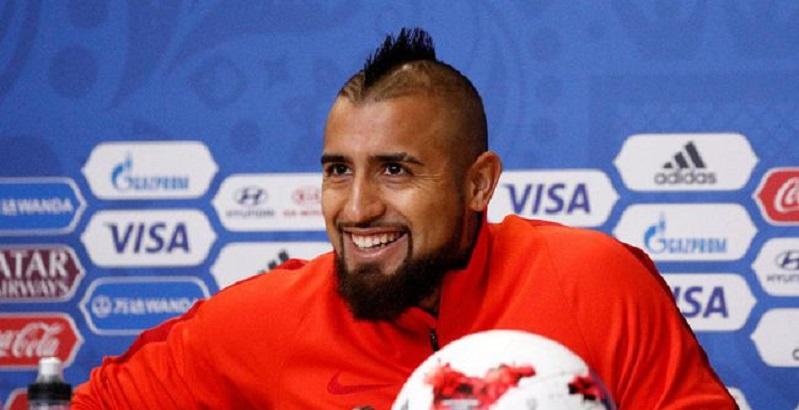 Vidal Resmi Gabung Barcelona