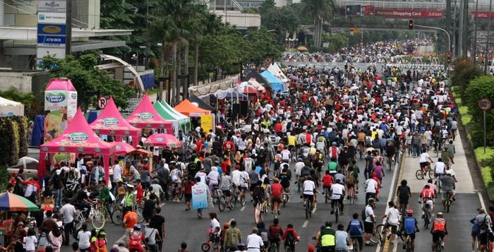 Warga Jakarta Kembali Ramaikan Car Free Day