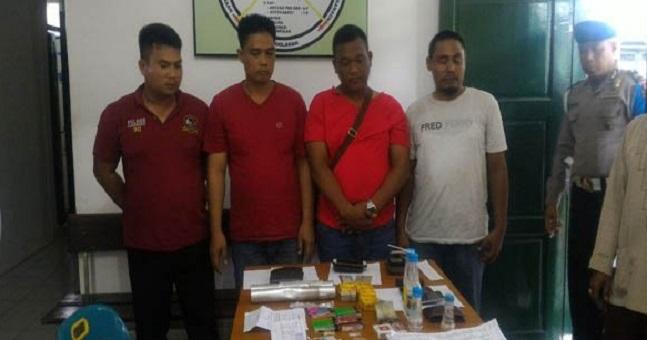 Asyik Nyabu, 3 Polisi Medan Ketangkap Tim Gabungan TNI