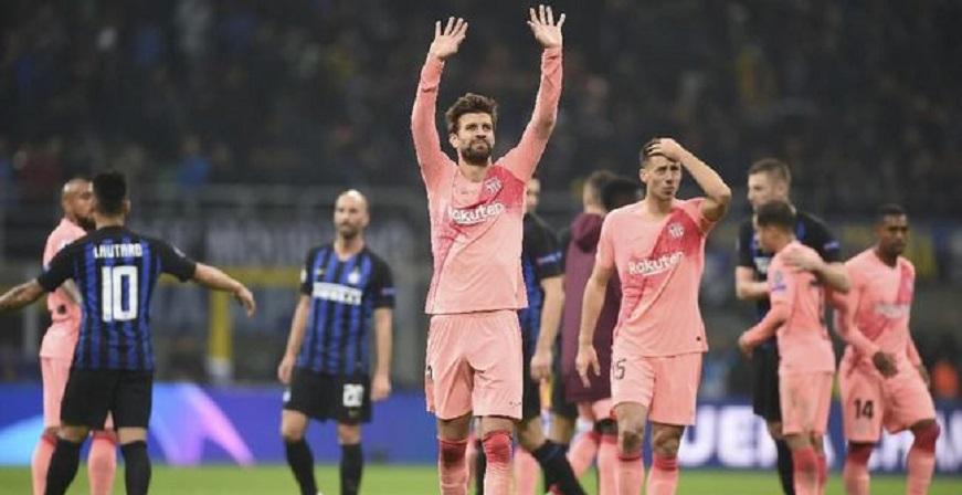 Liga Champions: Barcelona Bidik Juara Grup B