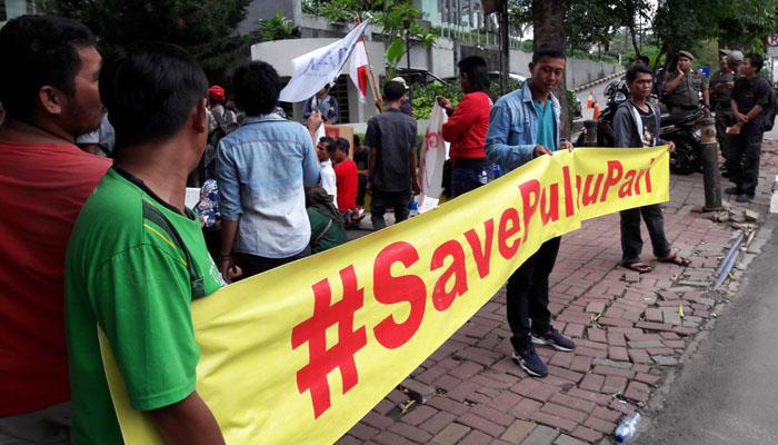 Warga Pulau Pari Tagih Janji Kampanye Anies