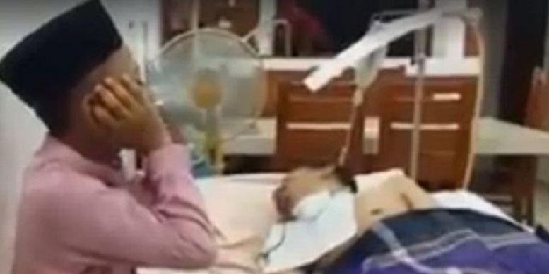 Koma 3 Tahun, Nabil Bangunkan Ayahnya Lewat Azan
