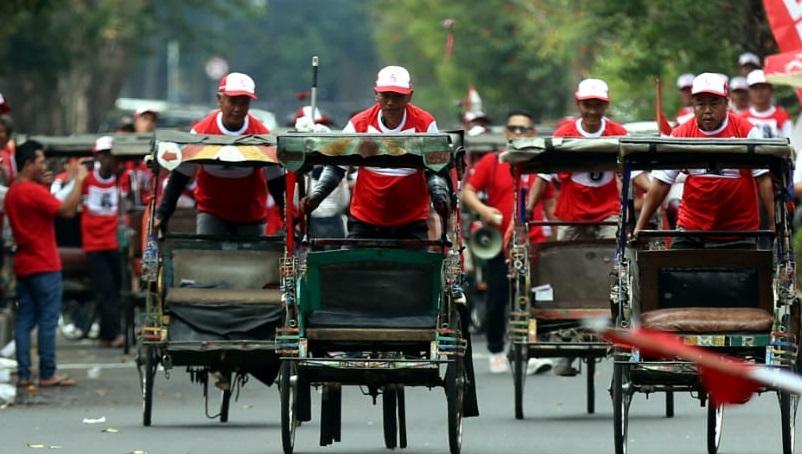 Ketua DPRD DKI Jakarta Tolak Becak Beroperasi Lagi