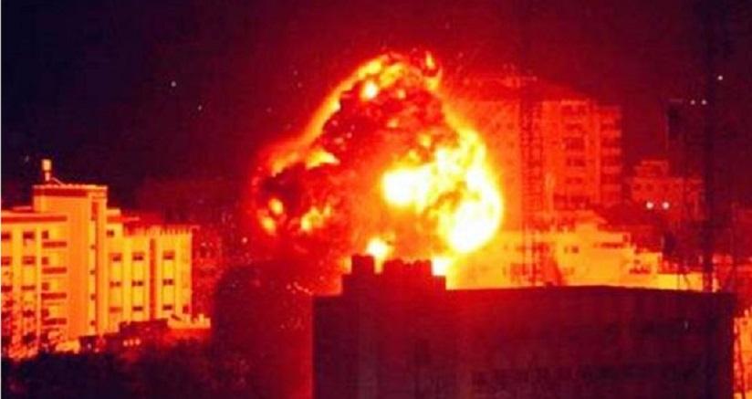Serangan Udara Israel Bombardir Gaza