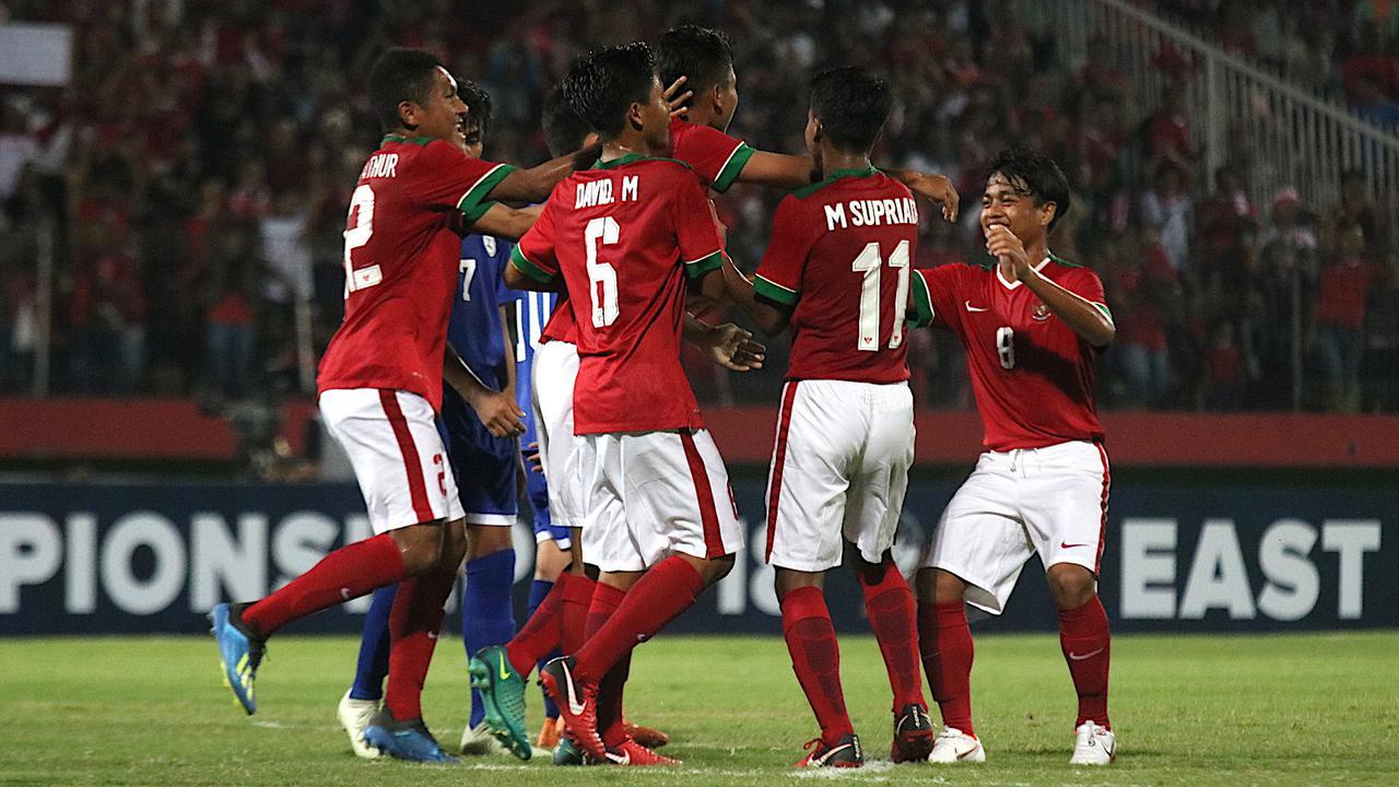 Piala AFF U-16 2018: Indonesia Gunduli Filipina