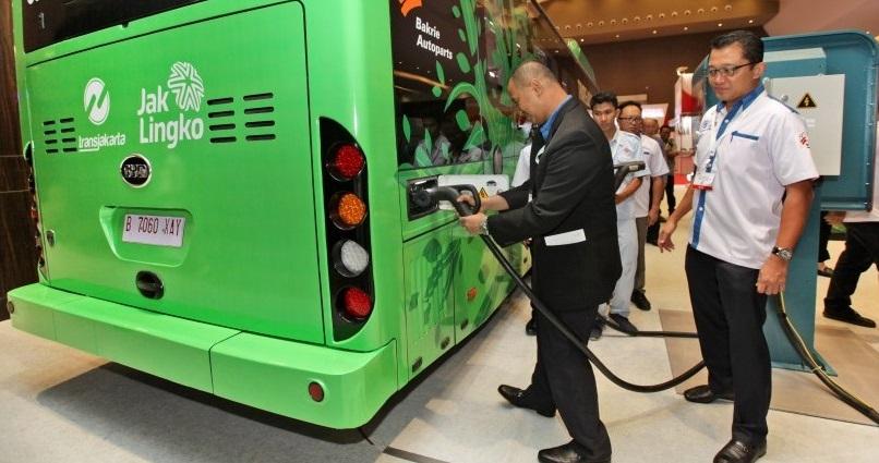 Kurangi Polusi, TransJakarta Cocok Pakai Bus Listrik