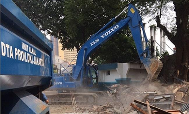 Pembangunan Jl Inspeksi Kali Krukut Dilanjutkan