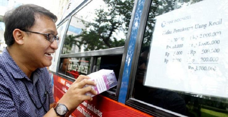 Lokasi Penukaran Uang untuk Lebaran di Jabodetabek