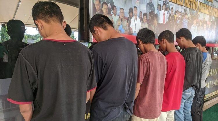 Dibekuk, Geng Motor Bacok Korbannya hingga Tewas di Sunter Jaya