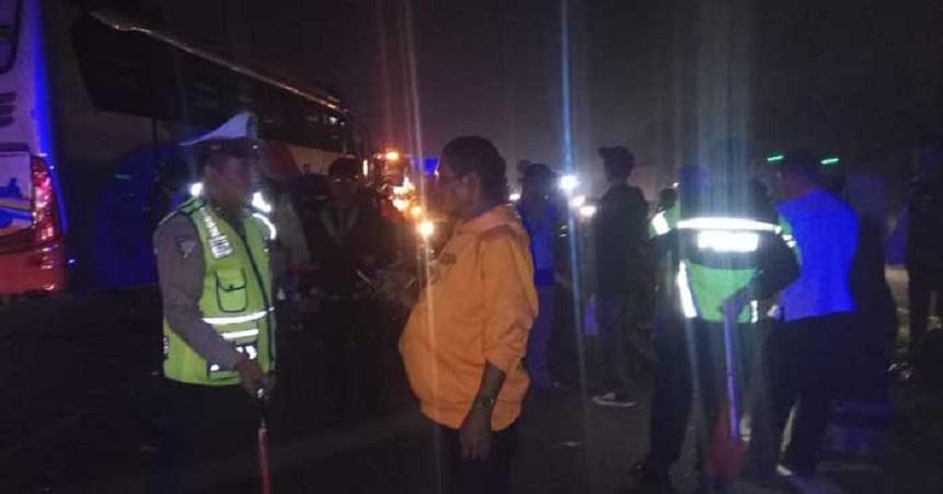 Bus Rosalia Indah Seruduk Fortuner, Kontributor RTV Tewas