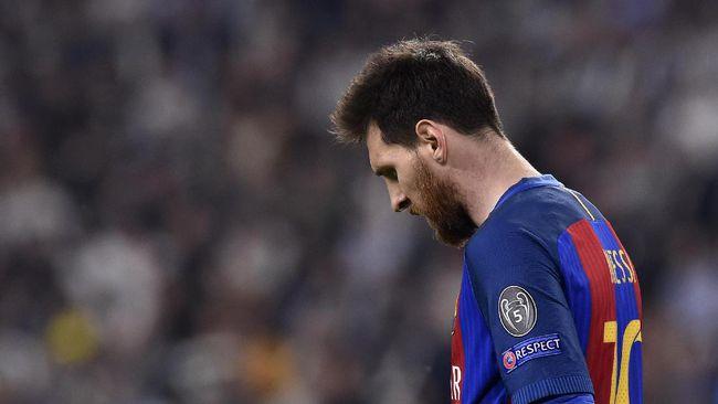 Liga Champion, Tembakan Messi Cetak Rekor Terparah