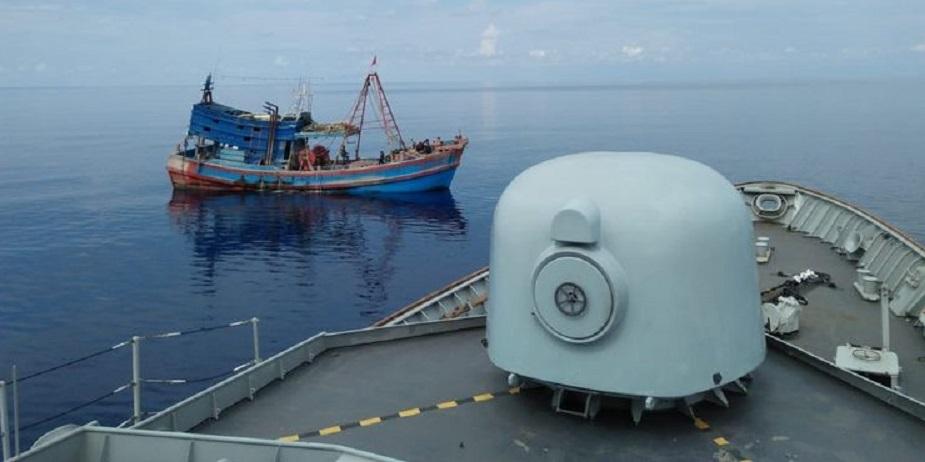 Tak Jera, 2 Kapal Vietnam Diduga Curi Ikan di Laut Natuna