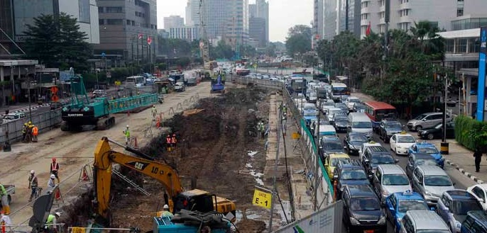 Jelang Mudik, Semua Proyek Pembangunan di Jakarta Disetop