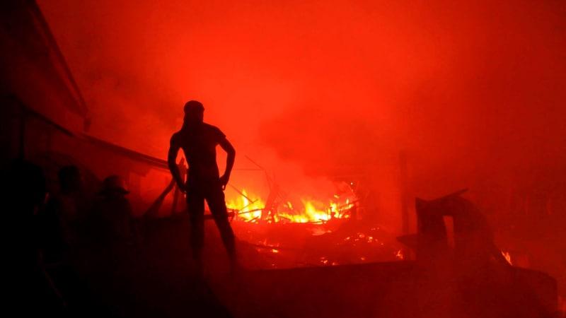Kompleks Asrama Polri di Cipinang Dilalap Api