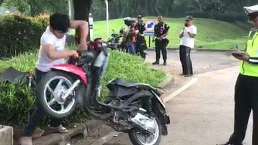 ITW : Pengrusakan Motor di Tangsel Kelalaian Petugas