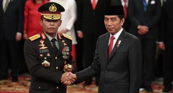 Presiden Jokowi Resmi Lantik Kapolri Jenderal Pol. Idham Azis