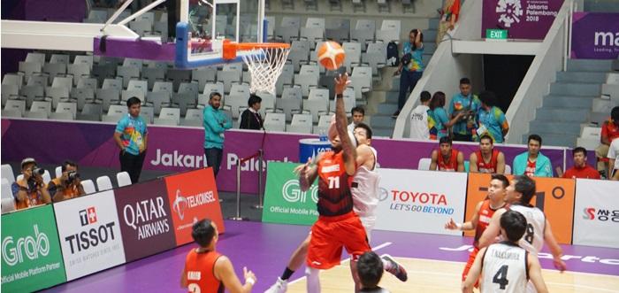 Ditonton Cawapres, Tim Basket Putra Indonesia Kalah