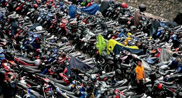 2 Juta Motor di Jakarta Barat Tak Bayar Pajak