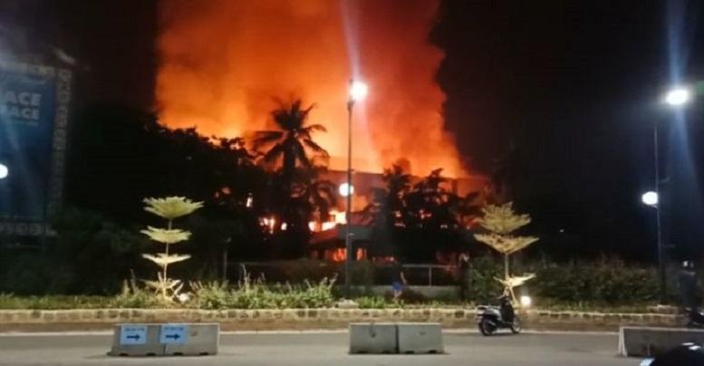 Gedung Hailai Ancol Dilalap Api