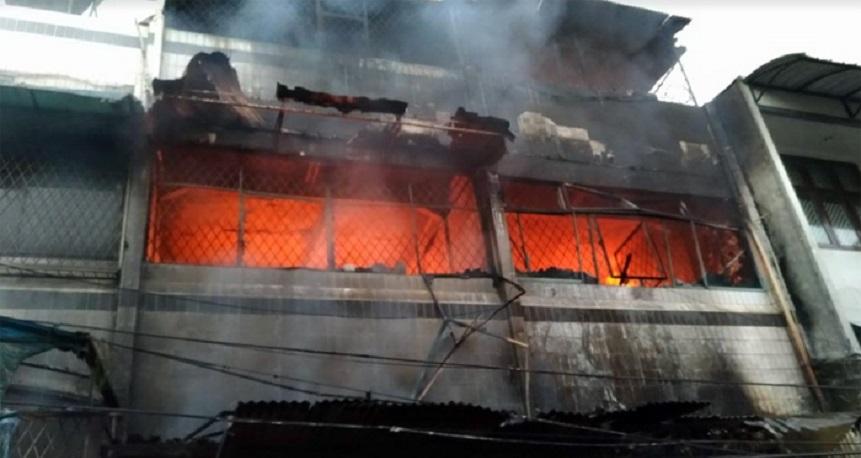 Kebakaran Landa Penjaringan, 2 Orang Tewas 1 Cedera