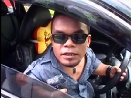 Ditolak Buat SIM, Ucok Baba Langganan Ditilang Polisi