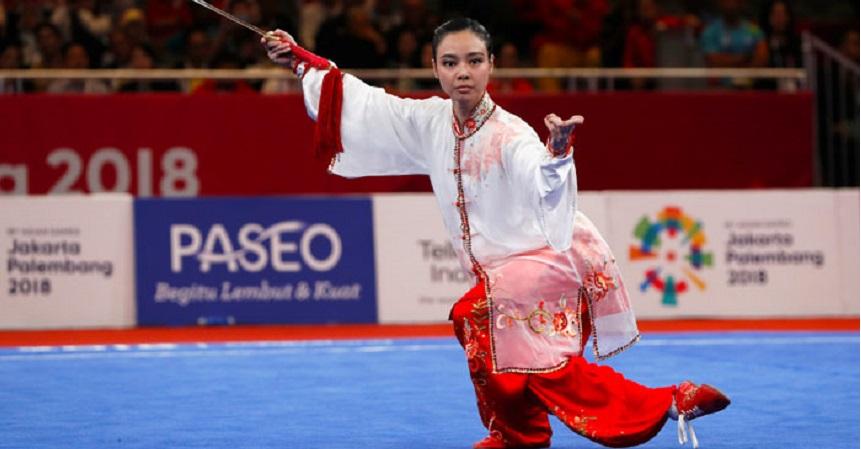 Asian Games, Indonesia Tambah Emas dari Pewushu Lindswell
