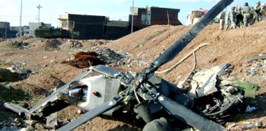 Heli Militer AS Jatuh di Irak, Tujuh Serdadu Tewas