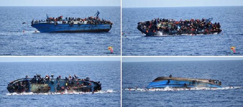 Kapal Pembawa Migran Tenggelam, 48 Orang Tewas