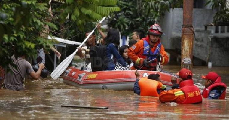 Normalisasi Berhenti, Potensi Banjir Landa 129 Kelurahan