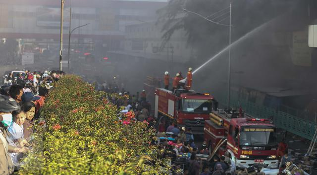 Kecamatan Senen Terbanyak Kasus Kebakaran di Jakpus
