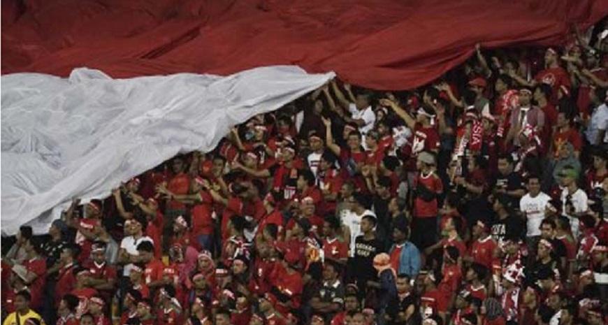 3 Suporter Indonesia Ditahan di Malaysia