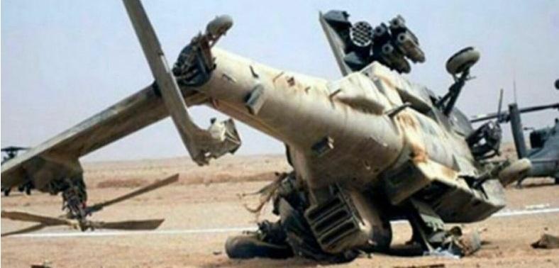 Helikopter Tempur Rusia Jatuh di Suriah, 2 Pilot Tewas