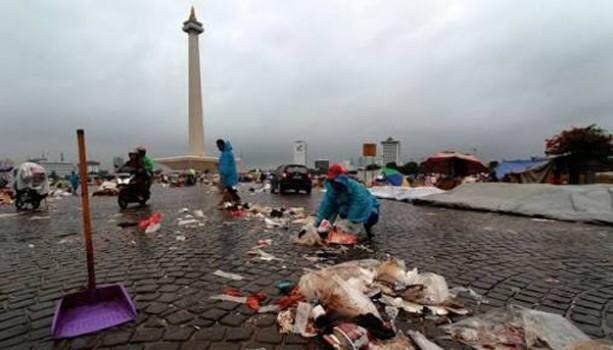 Kesadaran Warga Jakarta Jaga lingkungan & Udara Sangat Rendah