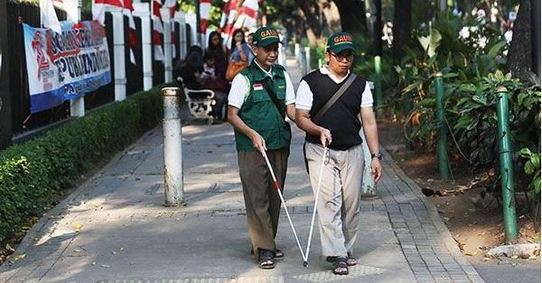 Didiskriminasi, Jakarta Tak Ramah bagi Disabilitas