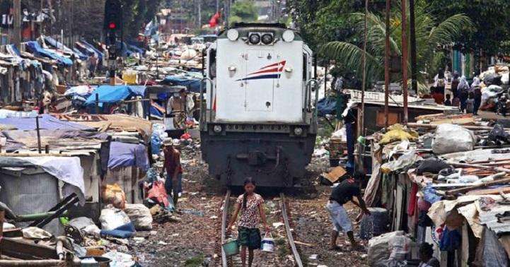 Indonesia Masuk 3 Besar Negara Berpenduduk Miskin di Kota