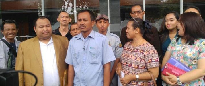 Gugat Gubernur Anies, Sopir Angkot Datangi Ombudsman