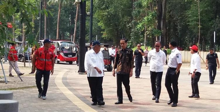 Jokowi: Fasilitas Umum Disabilitas di GBK Belum Maksimal