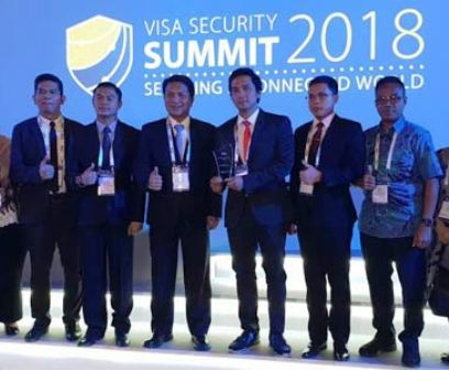Bongkar Kasus Skimming,Ditkrimum Polda Metro Sabet Law Enforcement Award 2018 di Singapore