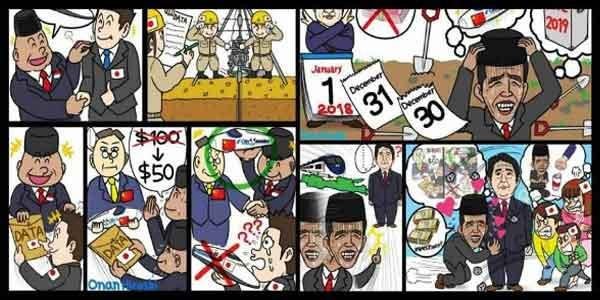 Hina Presiden Jokowi, Komikus Jepang Menyembah Minta Maaf