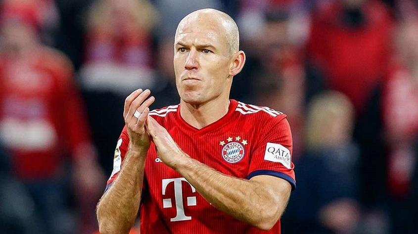 Robben Pensiun dari Dunia Bola
