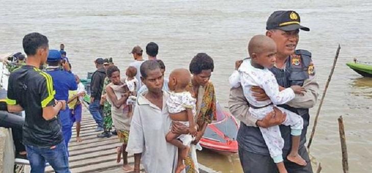 Polri Evakuasi 14 Anak Penderita Gizi Buruk di Papua