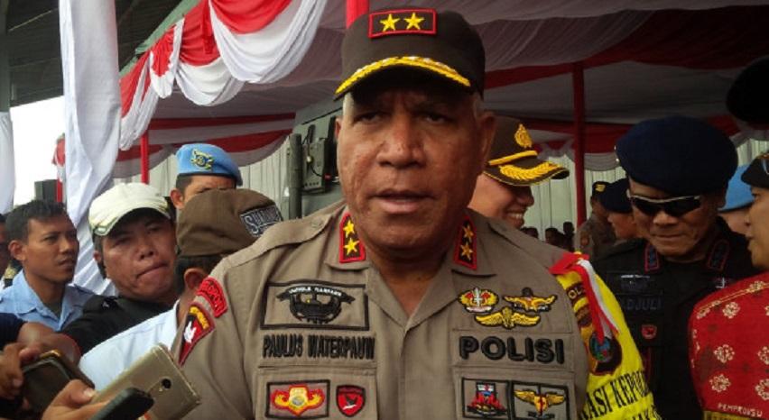 Kapolda Papua Kembali Dijabat Irjen Pol Paulus Waterpauw