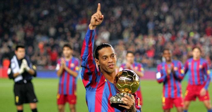 Ronaldinho Datang di Palembang