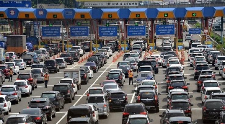 Pasca Tahun Baru, 95 Ribu Kendaraan Balik ke Jakarta