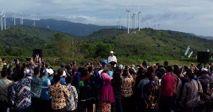 Presiden Jokowi Gencar Kembangkan PLTB